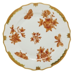 Herend Fortuna Rust Dinnerware