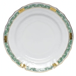 Herend Chinese Bouquet Garland Green Dinnerware