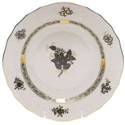 Herend Chinese Bouquet Black Dinnerware