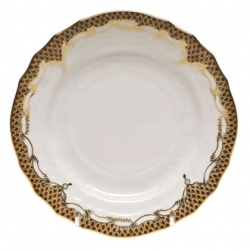 Herend Fishscale Brown Dinnerware
