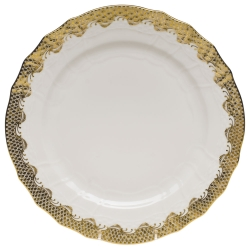 Herend Fishscale Gold Dinnerware