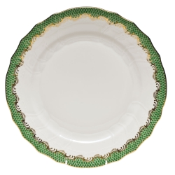 Herend Fishscale Jade Dinnerware