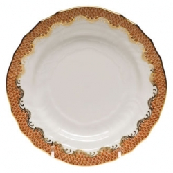 Herend Fishscale Rust Dinnerware