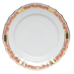 Herend Chinese Bouquet Garland Rust Dinnerware