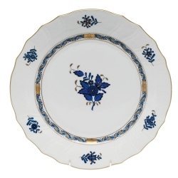 Herend Chinese Bouquet Black Sapphire Dinnerware