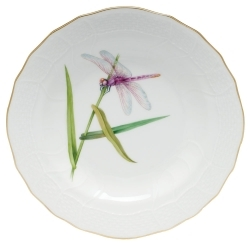 Herend Dragonfly Dessert Set Dinnerware