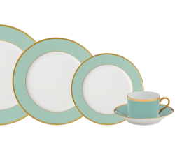 Haviland & Parlon Arc En Ciel Mint