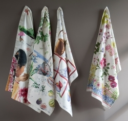 Gien Tea Towels & Table Linens