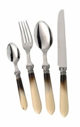 Alain Saint Joanis Antique Marble Stainless Flatware