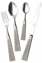 Alain Saint Joanis Celtique Silverplate Flatware