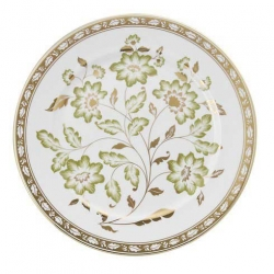 Royal Crown Derby Green Panel Accent