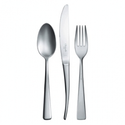 Christofle Elementaire Matte Stainless Flatware
