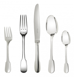 Christofle Cluny Silverplate Flatware
