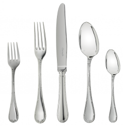 Christofle Rubans Silverplate Flatware