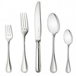 Christofle Malmaison Silverplate Flatware