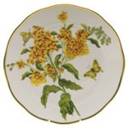 Herend American Wildflower - Butterfly Weed Dinnerware