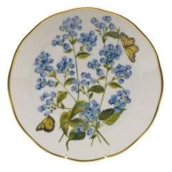 Herend American Wildflower - Blue Wood Aster Dinnerware