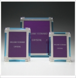 William Yeoward Classic Glass Frames - Aqua