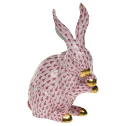 Herend Medium Bunny w / Paws Up