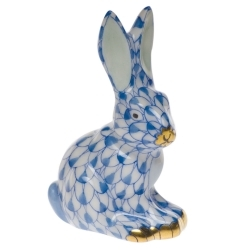 Herend Miniature Sitting Rabbit