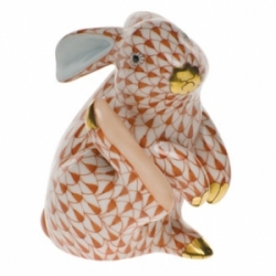 Herend Scratching Bunny