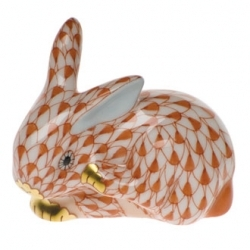Herend Small Scratching Bunny