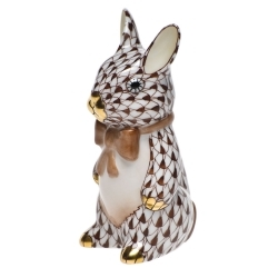 Herend Bunny with Bowtie