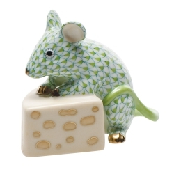 Herend Mouse with Cheese