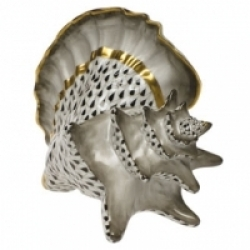 Herend Conch Shell