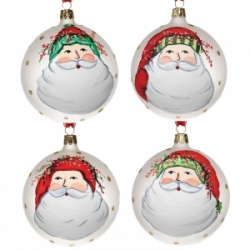 Vietri Old Saint Nick Ornaments & Holiday Decor