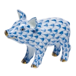 Herend Little Pig Standing