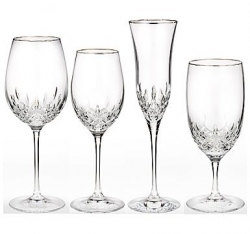 Waterford Lismore Essence Platinum Stemware