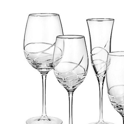 Waterford Ballet Ribbon Essence Platinum Stemware