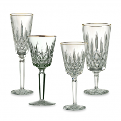 Waterford Lismore Tall - Gold Stemware