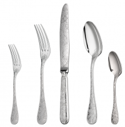 Christofle Jardin D'Eden Sterling Flatware
