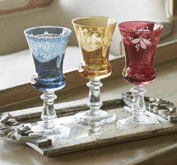 Arte Italica Colored Stemware