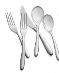 Nambe Bend Stainless Flatware