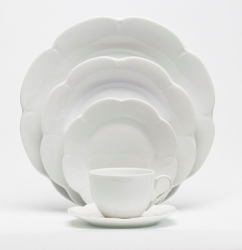 Royal Limoges Nymphea White