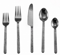 Simon Pearce Orleans Flatware