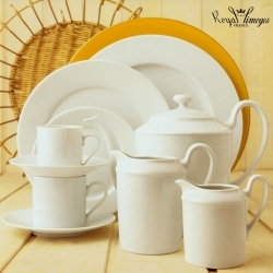 Royal Limoges Recamier White