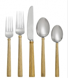 Michael Aram Wheat Gold Flatware