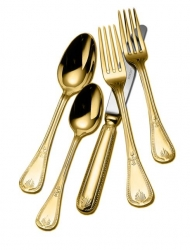 Couzon Gold Plated Flatware