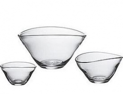 Simon Pearce Glass Bowls