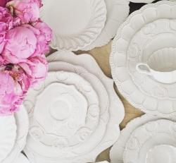 & Arte Italica bella Bianca Dinnerware