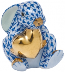 Herend Bunny w/ Heart