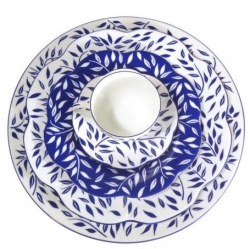 Royal Limoges Olivier Blue