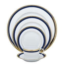 Haviland Symphony Gold & Blue