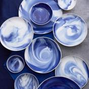 Simon Pearce Marble Indigo Dinnerware Collection ... & Simon Pearce Pottery Dinnerware_Simon Pearce Pottery