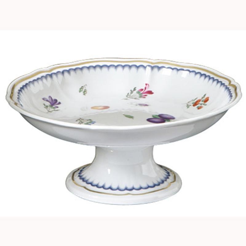 Italian Fruit Fruit Bowl Stand Gien China Juliska