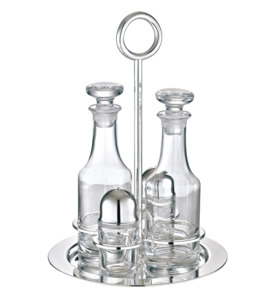 Christofle Vertigo Oil Vinegar Cruet Set
